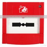 Pulsante del sistema di segnalatore d'incendio di incendio, pulsante di plastica