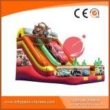 2017 de alta calidad 0,55 mm PVC Tarapulin inflable Cat Slide (T4-203)