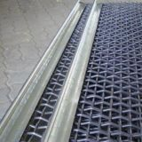 電流を通されるか、またはステンレス鋼304のひだを付けられた金網
