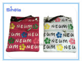 Neum Impression 4 couleurs petit sac à bandoulière en toile de souvenirs