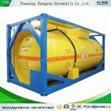 20 pieds 40 pieds de l'ISO de l'huile alimentaire de Produits chimiques Carburant GPL liquide LNG CNG Lco2 Réservoir de stockage de conteneurs de transport