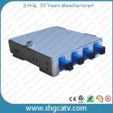 4-8 Sc 접합기 금속 FTTH 섬유 광학적인 끝 상자 (FTB-M4-4SC)