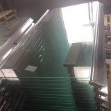 vidro temperado liso de 10mm para o quarto de chuveiro com padrão americano de SGCC