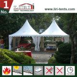 5x5m petit jardin pagode tente tente pour la réception de l'événement