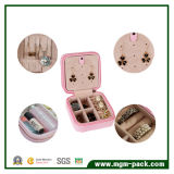 Doos van de Juwelen van het Karton van de manier de Met de hand gemaakte Pu Leer Verpakte voor Meisjes