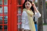 Flocado de moda bufanda de lana para mujer
