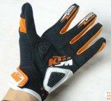 Guanto di cuoio esterno di riciclaggio del guanto del corridore del guanto del motociclo dei guanti di Ktm