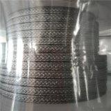 Tresse de graphite avec une bonne forme d'emballage en PTFE