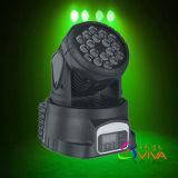 Déplacer la tête de l'éclairage/18*3W LED RGBW Déplacement de feu de route de la tête (QC-LM014)