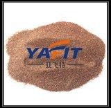 サンドブラストのガーネット研摩の屑30/60/80の網のガーネット砂