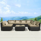 Pátio de vime Sofá Cadeira Exterior Jardim Inicial da Mesa móveis de vime móveis de vime