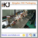 自動熱の即席めん類、ミルクの茶のための憶病なパッケージ機械