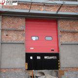 Промышленная секционная сползая надземная дверь