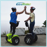 Nuovo Products Ecorider 2016 Lithium Battery fuori da Road Electric Chariot Two Wheel Smart Balance Electric Golf Scooter