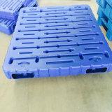 Pálete lisa plástica tamanhos resistentes do HDPE dos vários para o armazenamento do transporte