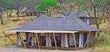 Sahara tente safari 5x10m Glamping tente pour Service Centre