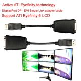 DVI Adapter Cable Dp에 DVI Support Ati Eyefinity 6 LCD Support 6LCD에 Ati Eyefinity Technology Active Displayport