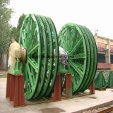 Singola gru della miniera di bobina della corda per uso della miniera di carbone