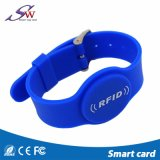 Wristbands do ISO 14443A NFC RFID do silicone 13.56MHz