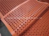 Stuoia di gomma antiscorrimento della pavimentazione della cucina dell'interno durevole