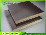 la madera contrachapada fenólica de 18m m, WBP impermeabiliza la tarjeta hecha frente película de /Shuttering de la madera contrachapada, madera contrachapada concreta del encofrado para la construcción