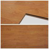il faggio di cristallo delle strisce di rivestimento 3 di 8mm ha incerato la pavimentazione del laminato di scatto di HDF Unilin o di scatto dell'arco per la stanza del mercato