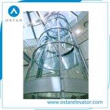800kg 1.0m/S 둥근 관측 상승 및 파노라마 엘리베이터