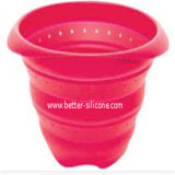Venda por grosso de filtro de borracha de silicone dobrável