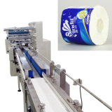 Tissue Paper Wrappingのための洗面所Roll Packaging Machine