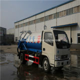 4X2 Dongfeng 4000L Vacuum Sewage Suction Truck