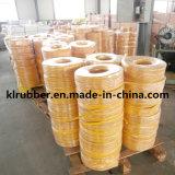 Amarillo aerosol de alta presión de la manguera de PVC