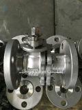 Válvula de esfera da flange do aço inoxidável do API
