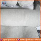 Paño incombustible de la fibra de cerámica del aislante de calor de las cortinas del horno