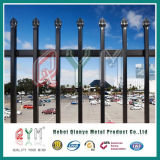 Rete fissa di picchetto d'acciaio saldata/rete fissa ornamentale del ferro/rete fissa superiore del metallo