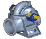 Bomba de estoque de 50t / D, bomba de ventilador para linha de máquina de fabricação de papel