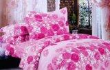 Manier Afgedrukt naar huis Geplaatst Beddegoed/de Reeks van het Beddegoed van de Textiel van het Hotel 4PCS