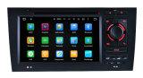 Audi A6のために(任意選択)防眩Carplay車DVDの航法システム
