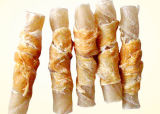 Le poulet Rawhide encapsule les aliments pour animaux, le chien traiter (007)