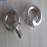 Oeil à queue filetée d'émerillon de construction d'acier inoxydable pour le matériau de construction