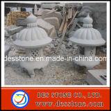 Granito linterna de piedra y patio jardín japonés de piedra tallados de linterna