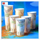 8oz vaso de papel para la bebida caliente
