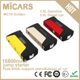 Стартер скачки Micars 16800mAh 12V портативный миниый многофункциональный