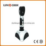 Oftalmoscopio medico addebitabile con la batteria