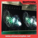 Parede ao ar livre cheia do vídeo do diodo emissor de luz da cor P3
