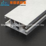 Perfiles de aluminio de plata del aluminio de Matt de la protuberancia
