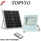 Projector solar do diodo emissor de luz da iluminação ao ar livre com painel solar