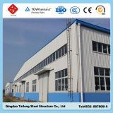 Almacén industrial de la estructura de acero del metal del diseño de la construcción para la fábrica