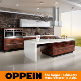 Furniture Design (OP13-285)를 가진 목제 Veneer Kitchen Cabinet