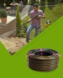 Alimentation Standards-Hose Mince Flexible tressé tuyau flexible à eau pulvérisée en plastique PVC