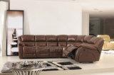 Echtes Lederrecliner-Sofa (850)